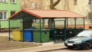 Osłony kontenerów na śmieci EKO