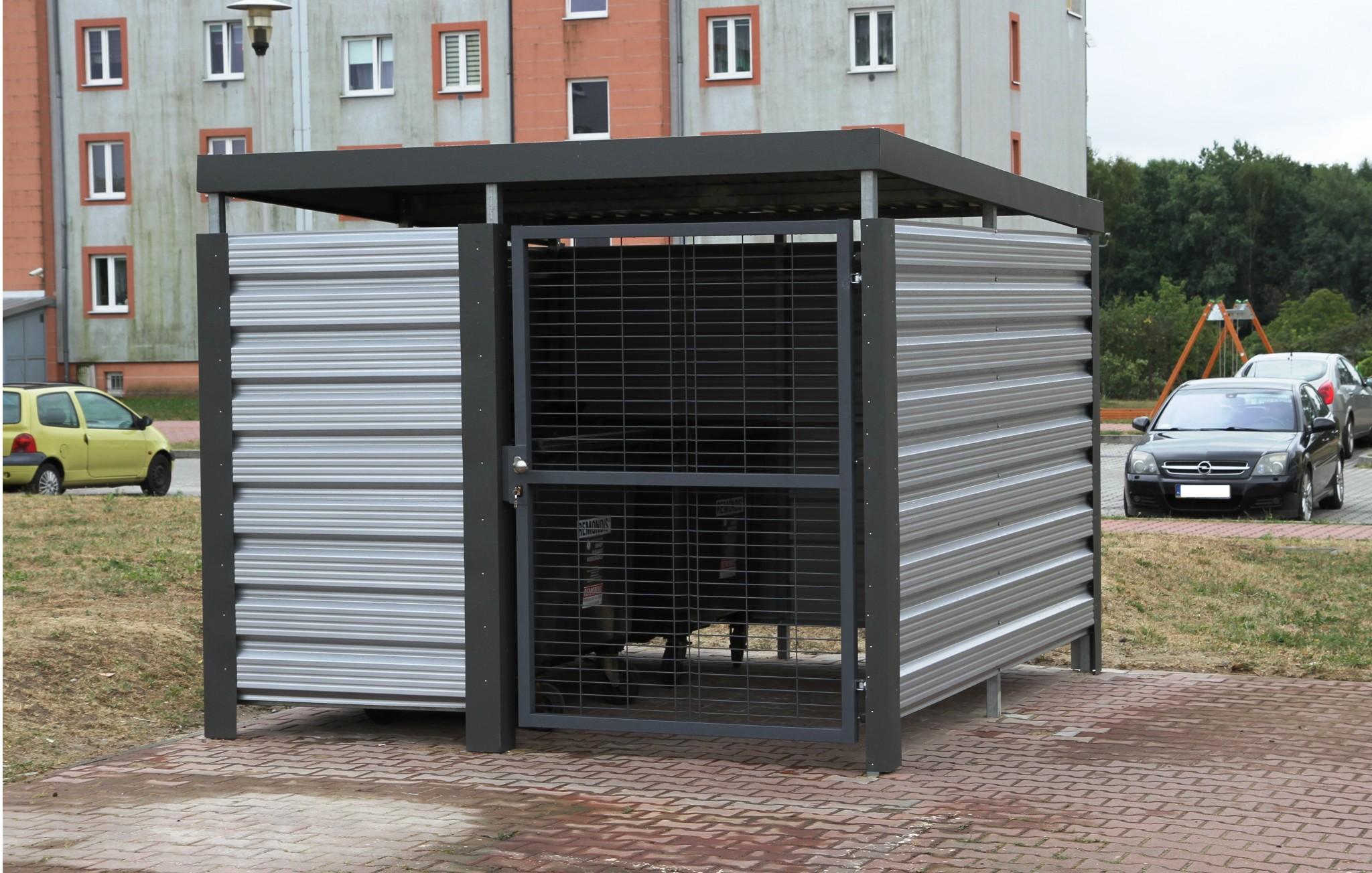 Altana śmietnikowa Standard, Gliwice ul. Sateryków
